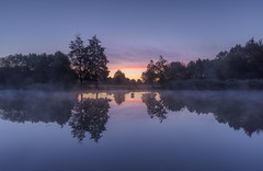 Santander Sunrise (John__Hull) Tags: sunrise sky clouds lake water landscape waterscape reflections trees mist autumn nikon d7200 sigma 1020mm leicestershire narborough uk england breath taking landscapes