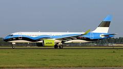 YL-CSJ 2019-08-26 AMS (Gert-Jan Vis) Tags: ylcsj bombardier cs300 airbus a220 airbaltic schiphol polderbaan estonianflag 55038