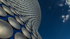 Selfridges. (Ian Emerson (Thanks for all the comments and faves) Tags: architecture birmingham westmidlands landmark iconic bullring shoppingcentre aluminiumdiscs futuresystemsarchitects