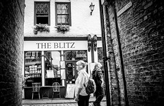 The Blitz (wayman2011) Tags: colinhart fujifilmxe2s lightroom5 wayman2011 bw mono street people northyorkshire whitby uk
