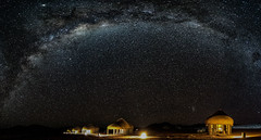 Millions of stars (Karl-Heinz Bitter) Tags: africa landscape afrika landschaft milky namibia sky panorama way stars long exposure lodge nightsky