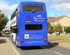 Rear of the Year (Not Amanda Holden) (Chris Baines) Tags: panther travel leyland olympian big 9249 lawford essex