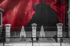 HFF - Museum (Jose Rahona) Tags: fencedfriday fencefriday fence friday museo museum red monochrome