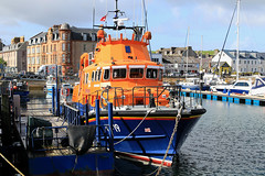 Campbeltown lifeboat (17-19)  'Ernest and Mary Shaw' (Dave Russell (1.5 million views thanks)) Tags: argyle kintyre campbeltown ocean sea rescue west water port canon photography eos harbor scotland boat photo marine ship harbour outdoor mary royal vessel class severn lifeboat national photograph maritime 7d western mooring ernest emergency shaw 999 rnli institution ecosse 1719 bute eos7d search sar rnlb