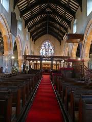 Church - St Andrew, Slaidburn 190822 [interior 2] (maljoe) Tags: slaidburn standrews church churches standrewchurchslaidburn