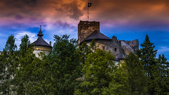 Niedzica - Spisz (Andrzej Kocot) Tags: andrzejkocot art adventure architecture landscape landscapes surreallandscape sky surreal skyline creative clouds countryside castle olympus omd outdoor poland polska photography fineart forest