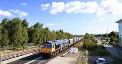 66737 Nunnery 13 Sep 19 (doughnut14) Tags: diesel rail loco freight bardon tinsley 66737 6m83 cum gbrf nunnery stone gc greatcentral shed leisa class66