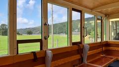 Through the Window (MylesBeevor) Tags: llanberis lake railway steam llyn padarn wales welsh cymru llr railways train trains uk loco locomotive dinorwic snowdonia snowdon