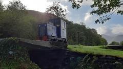 Topsy at Afon Wen (MylesBeevor) Tags: llanberis lake railway steam llyn padarn wales welsh cymru llr railways train trains uk loco locomotive dinorwic snowdonia snowdon topsy ruston diesel