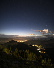 Red Mountain, Rossland, and Trail (JeffAmantea) Tags: red mountain redmtn rossland redresort trail columbia river valley west kootenays kootenay bc british canada night astro astrophotography star stars landscape light cloud trees forest range hike hiking camp camping outdoor outside sony alpha sonyalpha a7ii emount mirrorless tokina firin 20mm f20 panorama