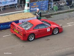 Robert Oram - Ferrari F40 (BenGPhotos) Tags: 2019 brighton speed trials race racing sports motorsport sport car robert oram ferrari f40 italian supercar f40lmo