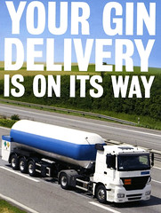 Your Gin Delivery Is On Its Way #Ginaissance (dullhunk) Tags: gin ginassaince