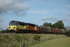 Whitehalgh Manor (Callum Nicolson) Tags: 6j37 colas class 70 708 70806 wilpshire bank carlisle chirk logs