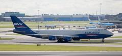 B747 | VQ-BBM | AMS | 20190913 (Wally.H) Tags: boeing 747 boeing747 b747 vqbbm silkwaywestairlines azerbaijancargo ams eham amsterdam schiphol airport