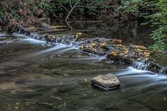 Mini Falls (JMS2) Tags: river brook stream falls rocks leaves cascade blurred water rnc blindbrook