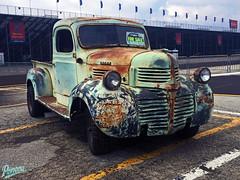 1946 Dodge Patina (Pomona Swap Meet) Tags: pomonafavorites pomonaswapmeet dodge dodgebrothers patina rust classictruck classic vintage dodgetruck truck pickuptruck carshowphotography mopar