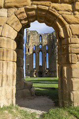 through the arch (Cranswick852) Tags: tynemouth tynemouthpriory priory ruin northumberland architecture arch