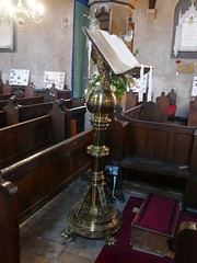 Church - St Andrew, Slaidburn 190822 [lectern] (maljoe) Tags: slaidburn standrews church churches standrewchurchslaidburn lectern