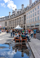 (DeepSane) Tags: london uk england unitedkingdom regentstreet summerstreets 200 rain reflections puddle streetphotography