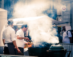(DeepSane) Tags: london uk england unitedkingdom regentstreet summerstreets 200 bbq smoke streetphotography
