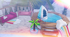 Lala - 605 (Lala - Secrets of a baby) Tags: chezmoi halfdeer event decorationbaby decoration home gacha rare beach