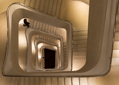 CaixaForum stairs again (Su Westerman) Tags: caixaforum madrid stairs spain