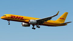 DHL Air UK Boeing 757-223(PCF) G-DHKO (StephenG88) Tags: londonheathrowairport heathrow lhr egll 27r 27l 9r 9l boeing airbus august25th2019 25819 myrtleavenue renaissanceheathrow dhl dhlairuk airdhkd0757752757f752f757200f757pcf757200pcf757223pcf757223fgdhkoamerican airlines