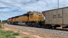 BNSF 8801 (Christian Schnake) Tags: bnsf brookline mo john twitty energy center coal train