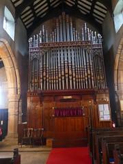 Church - St Andrew, Slaidburn 190822 [organ] (maljoe) Tags: slaidburn standrews church churches standrewchurchslaidburn organ churchorgan