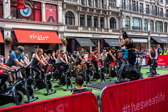(DeepSane) Tags: london uk england unitedkingdom regentstreet summerstreets 200 bikes cycling streetphotography