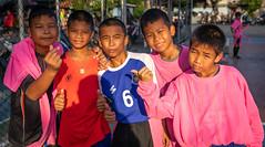 Khlong Toei (grab a pic) Tags: canoneos5dmarkiv canon eos 5d bangkok bangkokmetropolitanregion thailand 2019 khlongtoei streetphotography outdoor outside street people portrait boy boys football