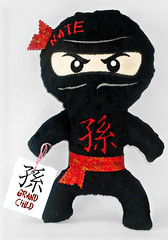 Custom ninja-Grandchild (Nice Threads) Tags: ninja custom personalized kanji grandchild