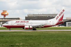 D-ADII (PlanePixNase) Tags: aircraft airport planespotting haj eddv hannover langenhagen boeing b733 737300 737 airberlin