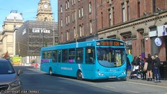 Arriva North West Wrightbus VDL Pulsar CX58 FZB 2921 - Liverpool (Efan Thomas Bus Spotting Photography) Tags: arriva north west wrightbus vdl sb200 pulsar cx58fzb 2921