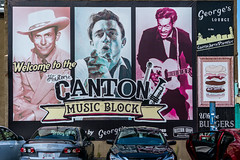 Suprising Canton! (sharon.verkuilen) Tags: canton ohio artsdistrict georgeslounge livemusic signs