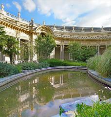 Le jardin du Petit Palais (Paris) (dalbera) Tags: paris france dalbera petitpalais jardin charlesgirault artnouveau