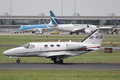 OE-FCB | GlobeAir AG | Cessna 510 Citation Mustang | CN 510-0044 | Built 2007 | DUB/EIDW 30/08/2019 | ex N366FW, XA-BAT (Mick Planespotter) Tags: aircraft airport 2019 dublinairport collinstown bizjet corporate spotter aviation avgeek plane planespotter airplane aeroplane oefcb globeair ag cessna 510 citation mustang 5100044 2007 dub eidw 30082019 n366fw xabat