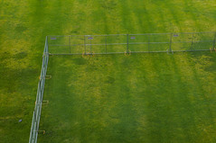 National Rent-a-Fence (Editor B) Tags: fence green louisiana myofficewindow neworleans xula