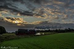 VSM 50-3654, Oosterhuizen (cellique) Tags: vsm 503654 zonsopkomst stoomlok spoorwegen treinen terugnaartoen eisenbahn zuge dampflok railway train
