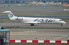 Bombardier CRJ-700ER  S5-AAY Adria Aws (EI-DTG) Tags: brusselsairport zaventem 28feb2019 bru s5aay bombardier crj crj700 adria