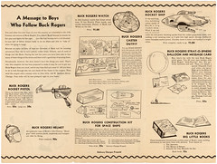1935 Buck Rogers 25th Century Catalog 03 (gameraboy) Tags: buckrogers buckrogersinthe25thcentury 1935 1930s vintage catalog raygun scifi sciencefiction toy toys vintagetoys