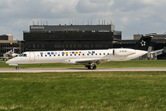 G-RJXI (PlanePixNase) Tags: aircraft airport planespotting haj eddv hannover langenhagen british midland staralliance 145 e145