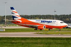 OK-SWU (PlanePixNase) Tags: aircraft airport planespotting haj eddv hannover langenhagen smartwings boeing 737 b735 737500