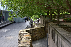 "Andy Goldsworthy's ""Walking Wall"" progresses at the Nelson-Atkins Museum of Art in Kansas City, Missouri.  Part 9 (4 of 6) (kzzzkc) Tags: nikon d750 usa missouri kansascity andygoldsworthy walkingwall nelsonatkins museumofart stone wall moving temporary sculpture people trees garden"