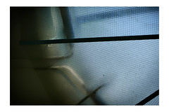 A confinement (Eric Rebaser) Tags: abstractphotography abstract wiredglass confinement