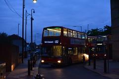 PVL284 - 132 North Greenwich (Gellico) Tags: go ahead london central last plaxton president pvl b7tl