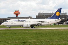 D-ABXT (PlanePixNase) Tags: aircraft airport planespotting haj eddv hannover langenhagen boeing 737 737300 b733 lufthansa