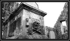 """Old Kirk"" Church & Cemetery (NikonShutterBug1) Tags: nikond7100 tamron18400mm spe smartphotoeditor blackwhite bw landscape tamronaf18400mmf3563diiivcldasphericalif thewickerman anwoth"