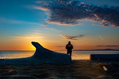 Sunset Fisherman (markburkhardt) Tags: