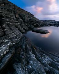 Øygarden curves (simengjelsvik) Tags: sony sonyalpha landscape norway wideangle 16mm mirrorless light epic cloud sky rock sea water reflection curves